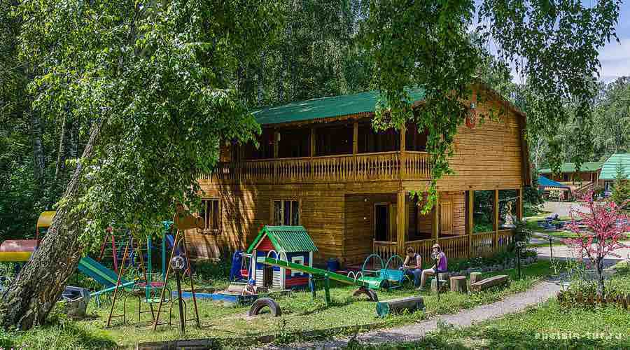 Глобус-база отдыха Алтай