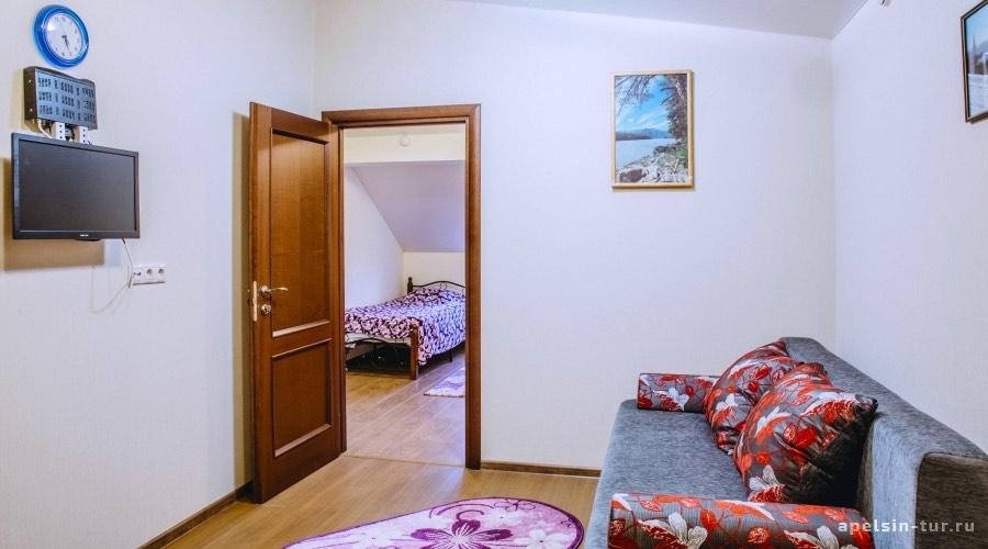 Снежный-отель в Шерегеш