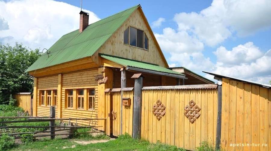 Садху-гостевой двор в Окунево