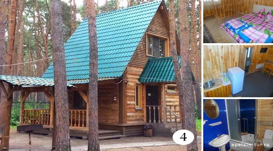 Прииртышья-Рубленный дом номер четыре