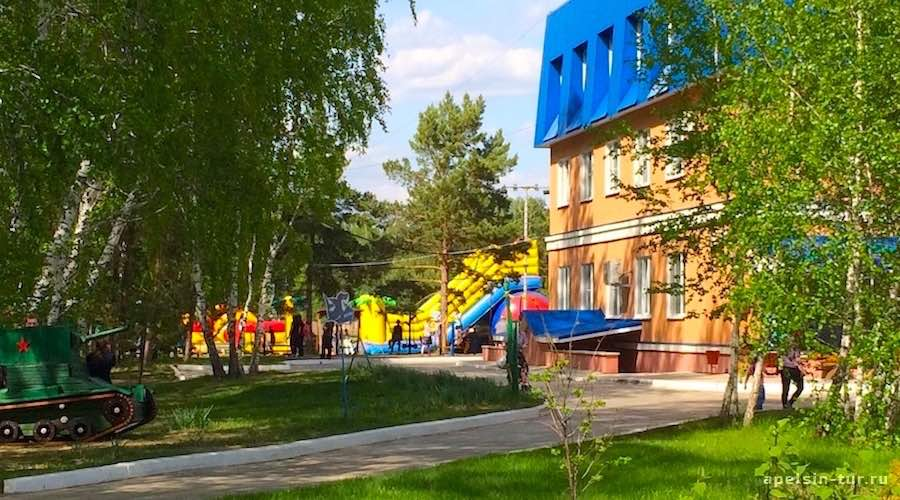 Сказка Омск, комплекс загородного отдыха