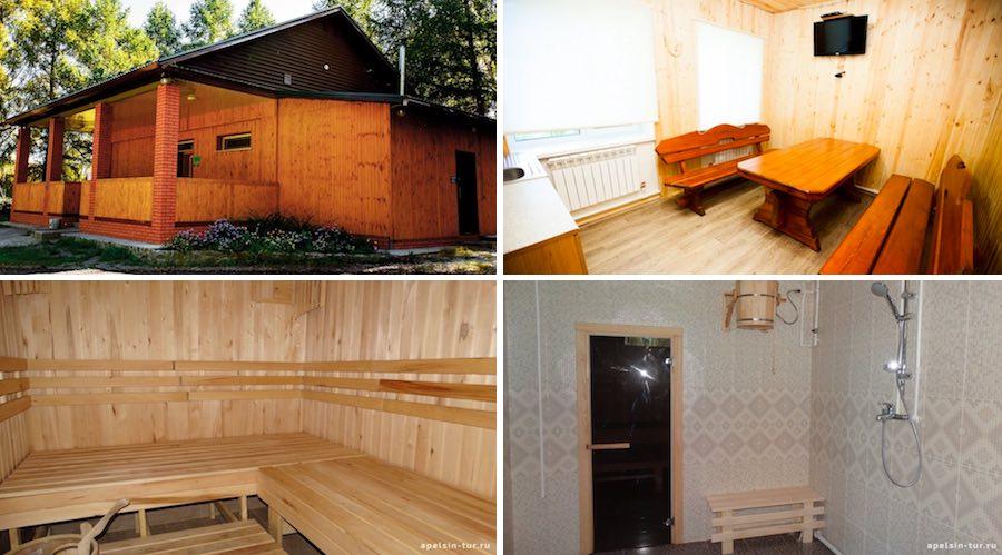 Русская баня Зотино Омск