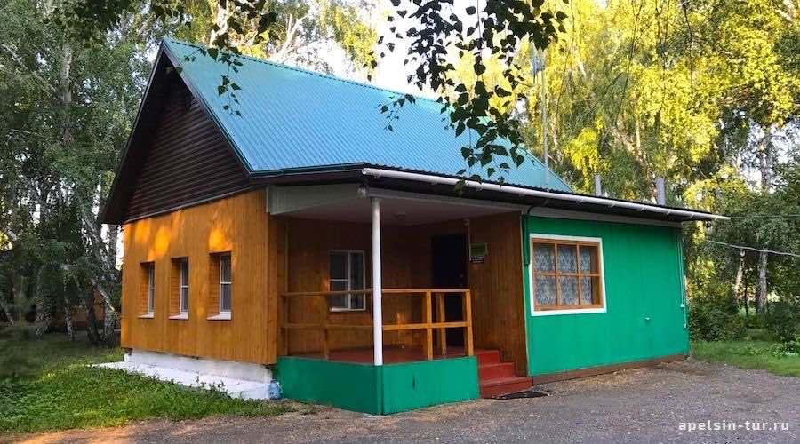 Коттедж Деревянный Зотино Омск