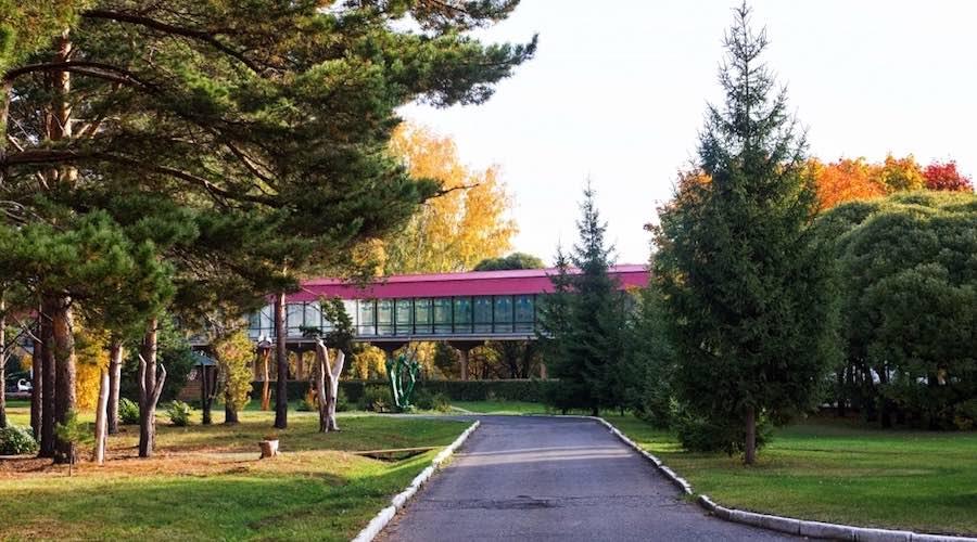 Санаторий Коммунальник - теплый переход