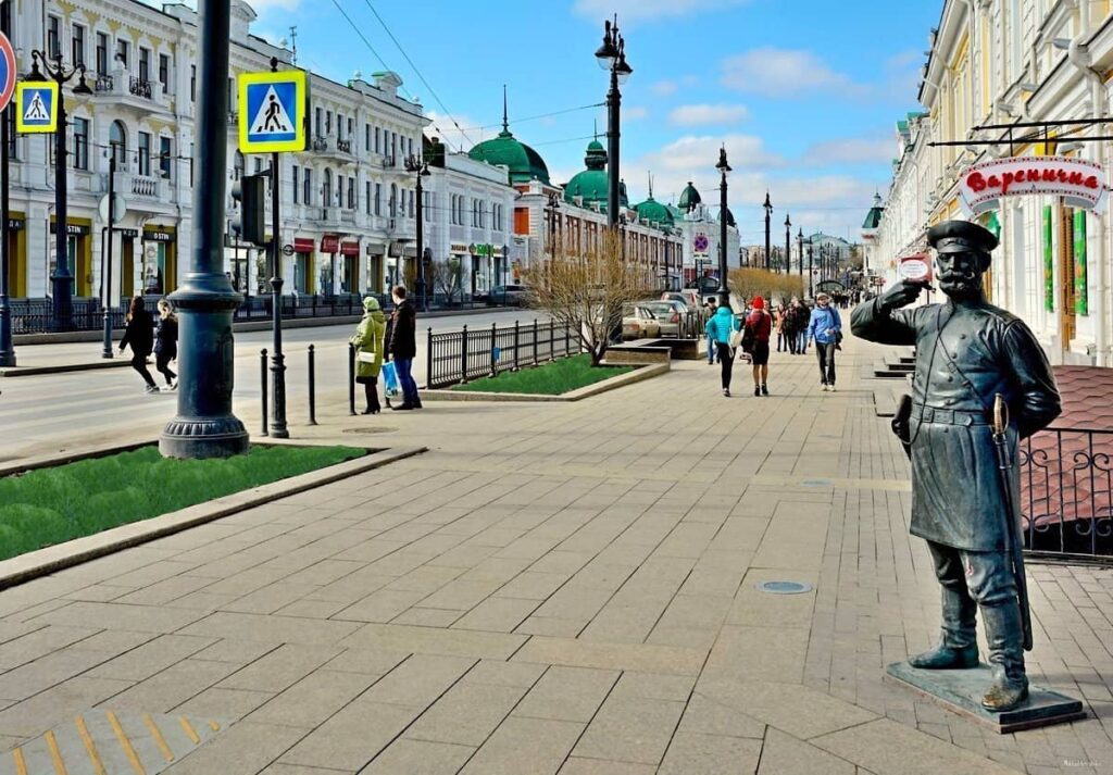 Любинский проспект г. Омска